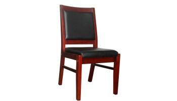 实木四脚会议椅LM-9065