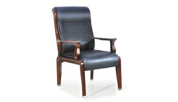 实木四脚会议椅LM-7595