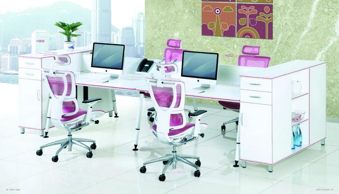 Q系列Q-682-黎明家具-简约风格办公桌